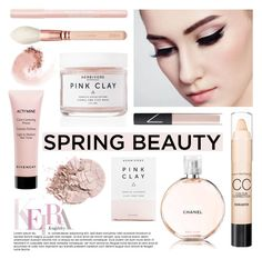 """""""Contest - Spring Beauty"""" by danielsfashion ❤ liked on Polyvore featuring beauty, Max Factor, Chanel, Herbivore Botanicals, Givenchy, NARS Cosmetics, Bourjois and contestentry"""