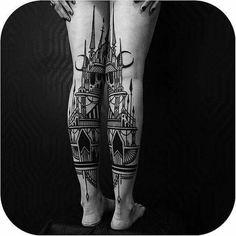 Castle Legs #tattoodo