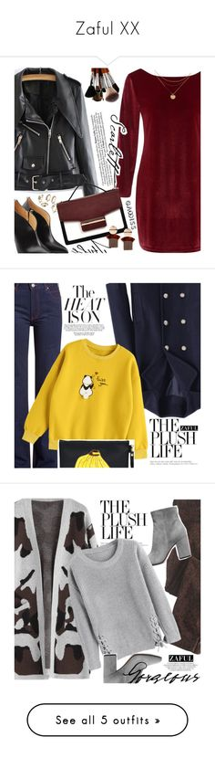 """""""Zaful XX"""" by vanjazivadinovic ❤ liked on Polyvore featuring zaful, Chloe Gosselin, polyvoreeditorial, gamiss, Calvin Klein 205W39NYC, Tea & Tequila, Wrap, Gianvito Rossi, Michael Kors and Whiteley"""