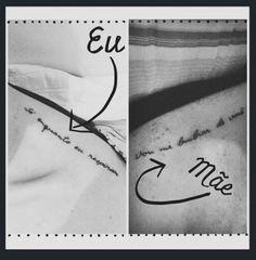 Quer forma mais linda de eternizar o amor entre mãe e filha do que uma tatuagem? Então, tá esperando o que pra fazer a sua? Se o problema era encontrar inspiração...