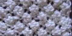 Receita de Tricô: Ponto pipoca em tricô                                                                                                                                                      Mais