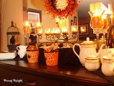 Halloween Sideboard by dining delight, via Flickr