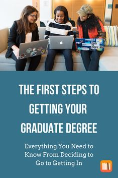 Considering Graduate School? We have a fresh blog that dives deep into the decision to apply and how to get in! It's everything you need to know from deciding to go to getting in!