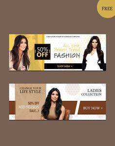 Modern Website Psd Banners