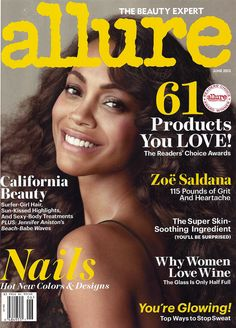 """Pick up the latest issue of @Allure Magazine to find out what Dr. Graf has to say about oils in skin care in the story """"Oil Rush."""" Flip a few pages and get all the myths surrounding sweat debunked in """"Body Heat."""""""