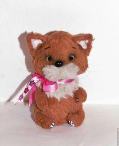 """Купить Кот тедди """" Кабачок"""" (9 см) - рыжий, кот, котик, коты и кошки"""