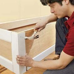 DIY build mudroom bench - basic instructions, want to build front, add cubbies, no hinged lid