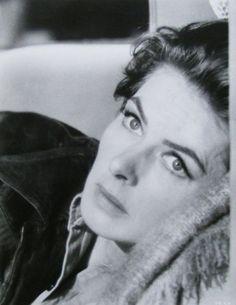 A still quite lovely Ingrid Bergman. in the 1960s. lmr