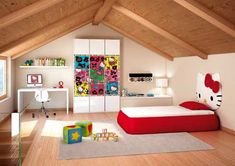 Hello Kitty Themed Kids Bedrooms | Shelterness#Repin By:Pinterest++ for iPad#