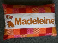 Kitten pillowcase www.facebook.com/KATNAPquilts