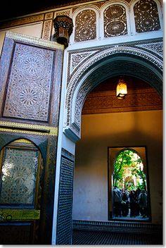 Bahia temple, Marrakesch
