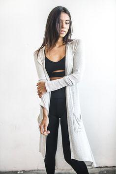 Joah Brown Soleil Cardigan-Chalk