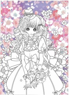 Disney Coloring Pages, Coloring Book Pages, Anime Princess, Drawing People, How To Draw Hands, Korea, Doodles, Crafting, Sketches