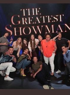 The Cast of the greatest showman