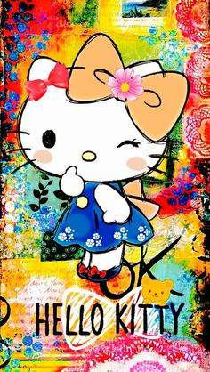 Hello Kitty Wallpaper...By Artist Unknown...‬‏