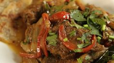 Braised Beef with Peppers & Shallots | Reza Mahammad | Reza Spice Prince of India