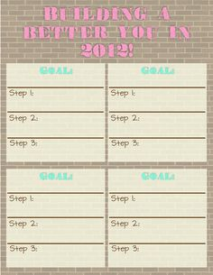 Student Success Plan Template | Goal Setting with Students Form ...