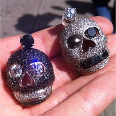 Anything with SKULLS I will take!   The JEKYLL and HYDE Earring