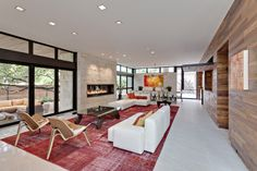 Caruth Interior Living Room - photos by Bret Januk  I went to see this home today on tour.  One of the best homes in Dallas!!