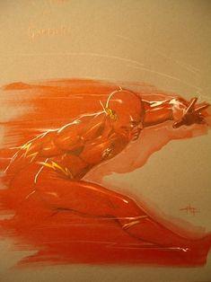 The Flash by Gabrielle Dell'Otto