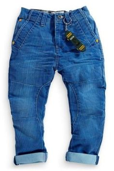 Buy Blue Wash O Leg Jeans (3-16yrs) from the Next UK online shop