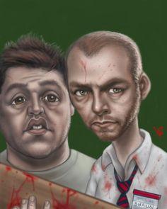 Shaun of the dead <3