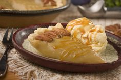 Gooey Amish Caramel Pie   MrFood.com