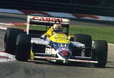 Nigel Mansell, Williams FW11 - Honda RA166-E 1.5 V6 (t/c) (Italy 1986)