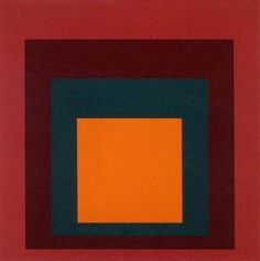 Study for homage to the square, 1954 (Silkscreen print) Silkscreen by Josef Albers - WorldGallery.co.uk