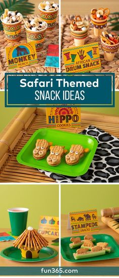 These snack ideas will bring you directly to the adventures in our VBS safari th., These snack ideas will bring you directly to the adventures in our VBS safari theme. Check out how to make these snacks for your VBS students. Jungle Theme Crafts, Safari Crafts, Jungle Theme Classroom, Jungle Theme Parties, Vbs Crafts, Jungle Theme Food, Classroom Themes, Jungle Theme Cupcakes, Safari Party Foods