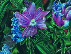 Violet Flowers by Ai-Don on deviantART