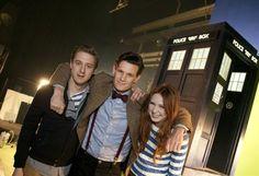 Doctor Who / Arthur Darvill, Matt Smith & Karen Gillan / Season 7
