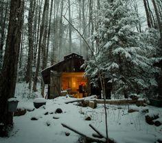 I love Bolton Landing. sugar cabin in backwoods of bolton landing, NY Ideas De Cabina, Bolton Landing, Winter Szenen, Winter Cabin, Snow Cabin, Winter Light, Little Cabin, Cabins And Cottages, Log Cabins