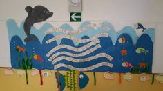 Un mare........ d'accoglienza La scuola Santa Maria della Vittoria di Brescia si è addobbata così per l'accoglienza bravissime le insegnanti e un grazie par