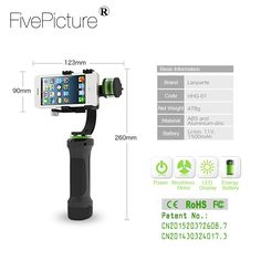Mobile phone smartphone 3 Axis Gimbal Stabilizer go pro 3-axis Brushles handheld video steadicam steadycam