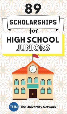 Scholarships For High School Juniors for High School Juniors! – College Scholarships Tips College Majors, Education College, College Loans, College Fund, Education Degree, Student Loans, Junior College, Primary Education, Continuing Education