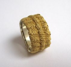 Rippring Buendchen gold plated by VerenaSchreppel on Etsy, €395.00