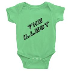 THE ILLEST Infant s/s one-piece