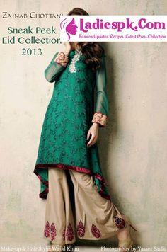 eid exhibition 2013 zainab chottani eid collection 2013 Zainab Chottani Fancy Eid ul Fitr Collection 2013 for Women