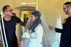 Kim Kardashian - At her wedding to Kanye West on May 24, 2014