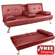 tinxs Red/Brown/Black Faux Leather Folding 3 Seater Sofa Bed with Fold Down Cup Holder Coffee Tea Table (R No description (Barcode EAN = 6913568540786). http://www.comparestoreprices.co.uk/december-2016-6/tinxs-red-brown-black-faux-leather-folding-3-seater-sofa-bed-with-fold-down-cup-holder-coffee-tea-table-r.asp