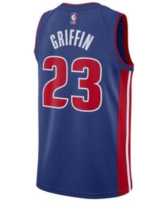 Nike Men Blake Griffin Detroit Pistons Icon Swingman Jersey c3f813848