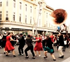 Swing out on St Patricks Day with the giant gramophone!