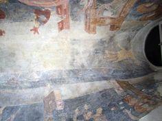 vault fresco with hand of god