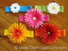 DIY hairbands for little girls
