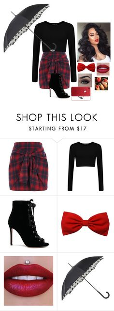 """""""Walk Away..."""" by baby-livie ❤ liked on Polyvore featuring River Island, Gianvito Rossi and Fulton"""