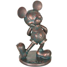 Your WDW Store - Disney Garden Statue - Flower and Garden - 2012 Mickey Mouse Mickey Mouse And Friends, Disney Mickey Mouse, Disney Garden Statues, Walt Disney, Disney World Secrets, Classic Mickey Mouse, Whiskers On Kittens, Disney Figurines, Disney Home Decor