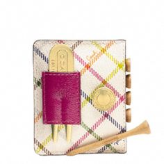 PEYTON TATTERSALL GOLF TEE SET - What a perfect gift for my fellow lady golfer friends!