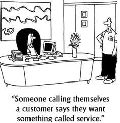 #CustomerService cartoon