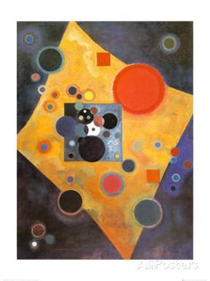 Akzent in Rosa Poster by Wassily Kandinsky at AllPosters.com
